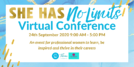 Announcing: She Has No Limits Conference - ucreate Blog